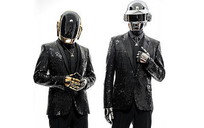 Daft Punk Photograph - Daft Punk - 955 by Jovemini ART