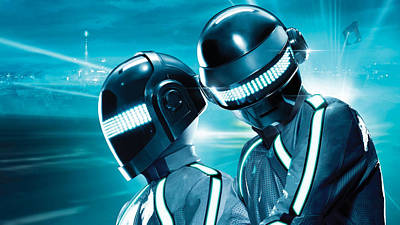Daft Punk - 98 Art Print by Jovemini ART