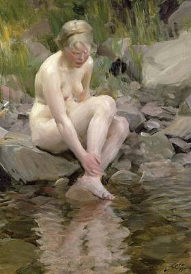 Anatomy Painting - Dagmar by Anders Leonard Zorn