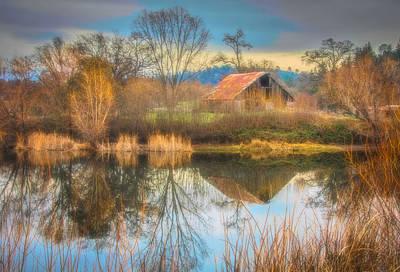 Photograph - D'agostini Pond by Steph Gabler