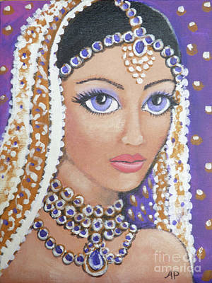 Painting - India by Audrey Peaty