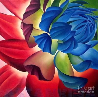 Painting - Dahlia by Natalia Astankina