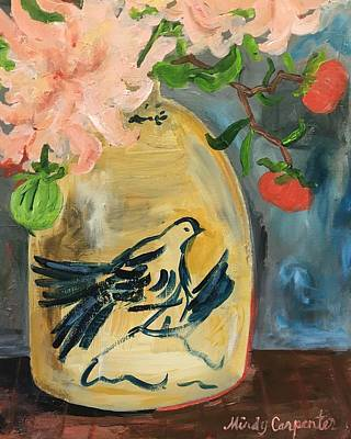 Painting - Dahlias by Mindy Carpenter