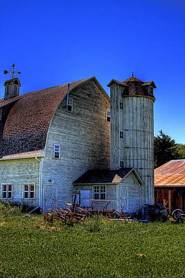 Photograph - Dahmen Barn V by David Patterson