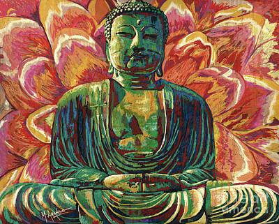 Photograph - Daibutsu Buddha by Maria Arango