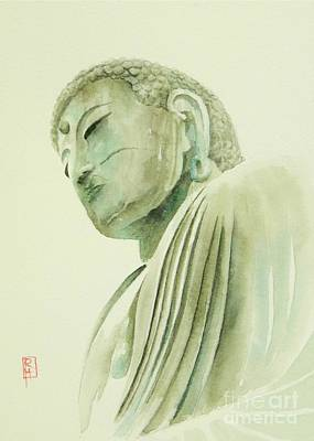 Painting - Daibutsu by Robert Hooper