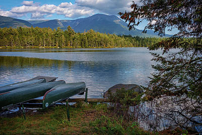 Photograph - Daicey Pond Campground by Rick Berk
