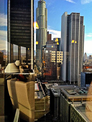 Photograph - Daido's View - Los Angeles by Kathy Corday