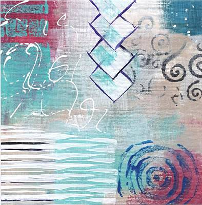 Painting - Daily Abstract Five by Suzzanna Frank