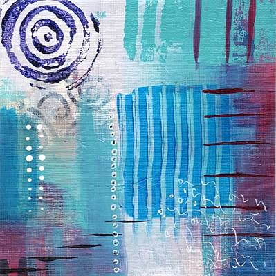 Painting - Daily Abstract Four by Suzzanna Frank