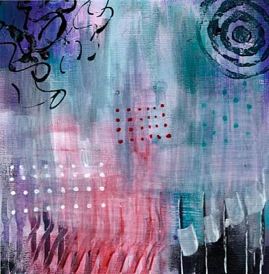 Painting - Daily Abstract One by Suzzanna Frank