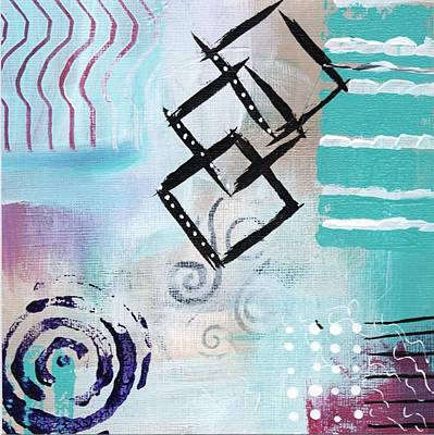 Painting - Daily Abstract Three by Suzzanna Frank