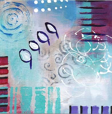 Painting - Daily Abstract Two by Suzzanna Frank