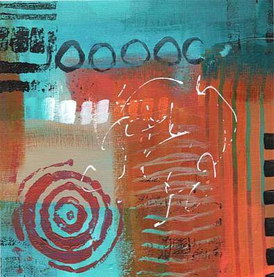 Painting - Daily Abstract Week 2, #1 by Suzzanna Frank