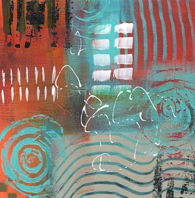 Painting - Daily Abstract Week 2, #2 by Suzzanna Frank