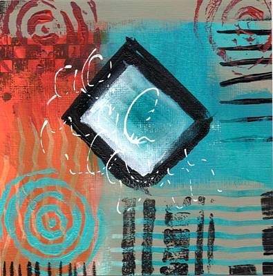 Painting - Daily Abstract Week 2, #5 by Suzzanna Frank