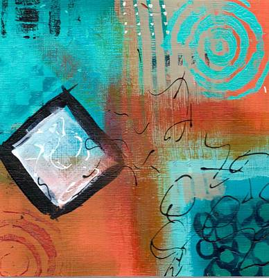 Painting - Daily Abstract Week 3, #4 by Suzzanna Frank