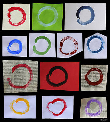 Painting - Daily Enso by Jutta Maria Pusl