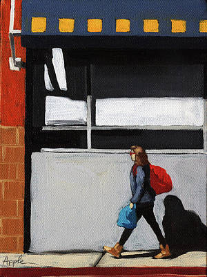 Painting - Daily Errands by Linda Apple