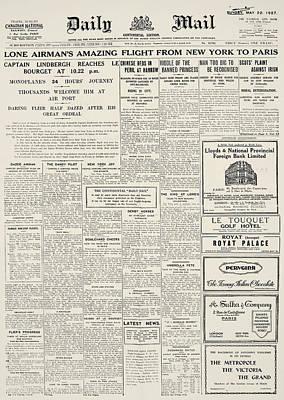 Daily Mail, 1927 Art Print