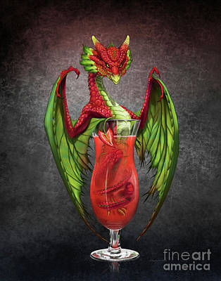 Digital Art - Daiquiri Dragon by Stanley Morrison