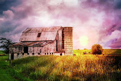 Photograph - Dairy Country by Debra and Dave Vanderlaan