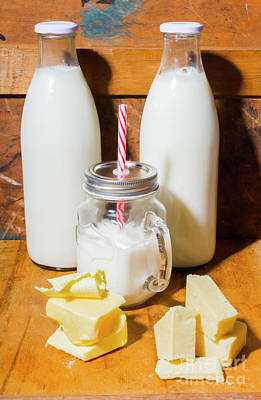 Milk Bottle Photograph - Dairy Delights by Jorgo Photography - Wall Art Gallery