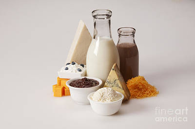 Dairy Products Art Print by George Mattei