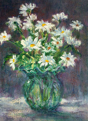 Painting - Daises by Jill Musser