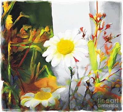 Daisies Art Print by Bob Salo
