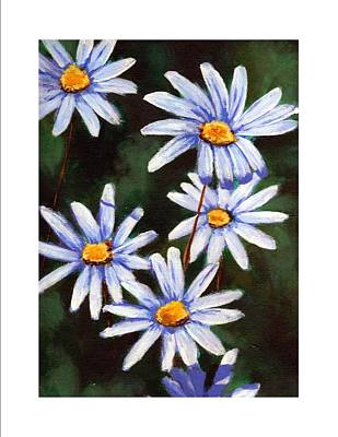 Painting - Daisies by Cami Lee