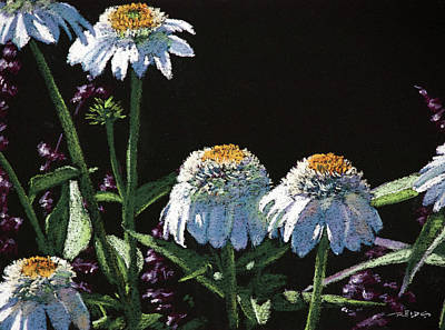 Painting - Daisies by Christopher Reid
