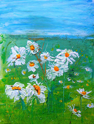 Painting - Daisies by Colleen Ranney