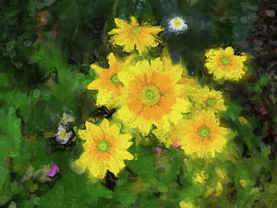 Painting - Daisies by Gary Grayson
