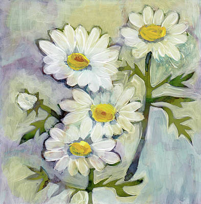 Painting - Daisies by Julie Maas