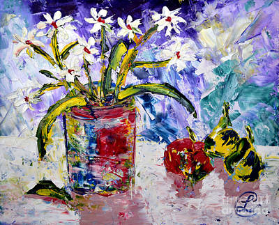Painting - Daisies by Lynda Cookson