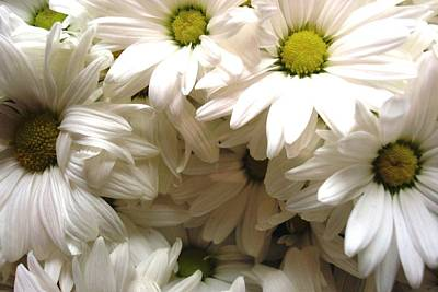 Art Print featuring the photograph Daisies Make Me Smile by Laura  Grisham