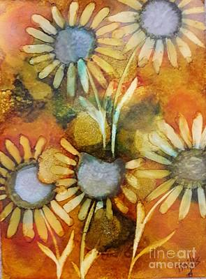 Painting - Daisies by Terri Mills