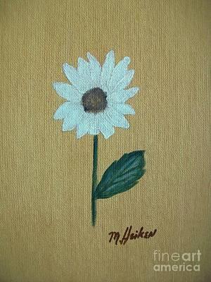 Daisy 2 Art Print by Marsha Heiken