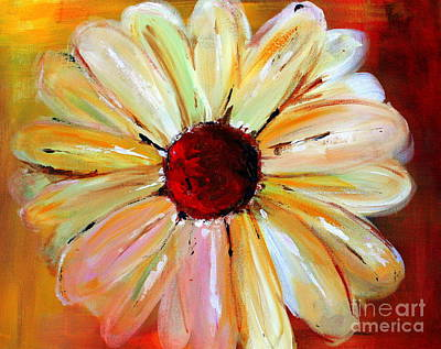 Painting - Daisy A Day 2 by Julie Lueders