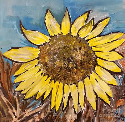 Adele Mixed Media - Daisy by Adele Fulcher