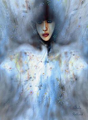 Digital Art - Daisy Angel by Natalie Holland