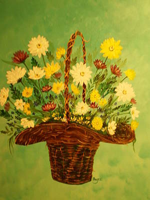 Art Print featuring the painting Daisy by Barbara Hayes