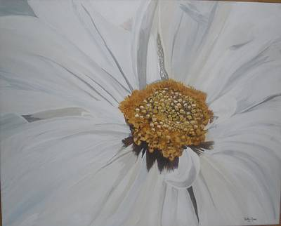 Art Print featuring the painting Daisy by Betty-Anne McDonald