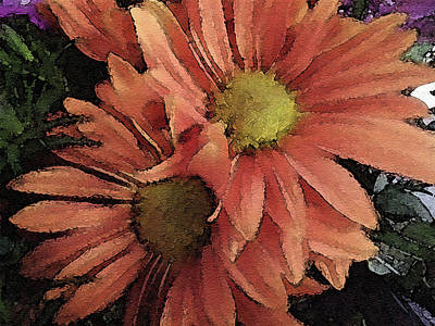 Photograph - Daisy Bouquet by Donna G Smith