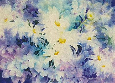 Daisy-chain Art Print by Nancy Newman