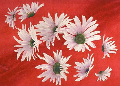 Daisy Chain Art Print by Ruth Kamenev