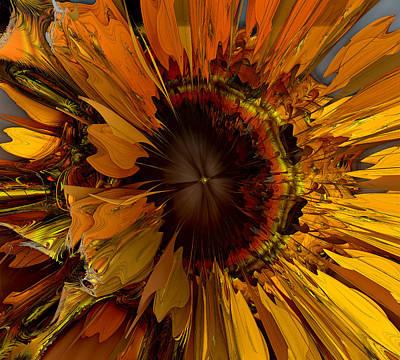 Recondite Digital Art - Daisy D. by GT Graeff