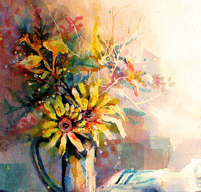 Painting - Daisy Day by Linda Shackelford