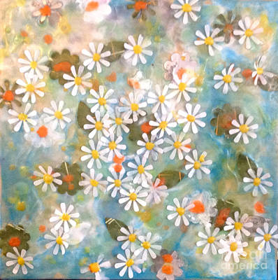 Painting - Daisy Days by Amy Stielstra